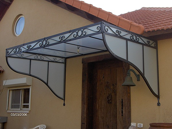 Porch Cover, Wrought Iron BG03