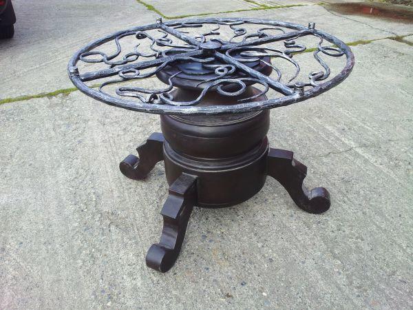 Wrought Iron Table Bt59 Miran S Wrought Iron Art