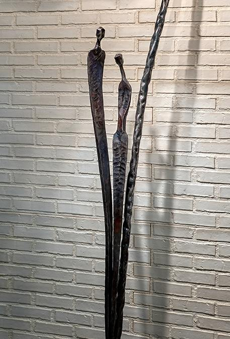 wrought iron floor lamp featured