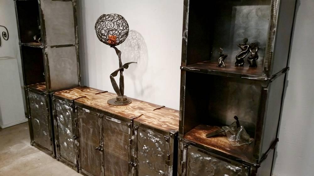 wrought iron tv furniture