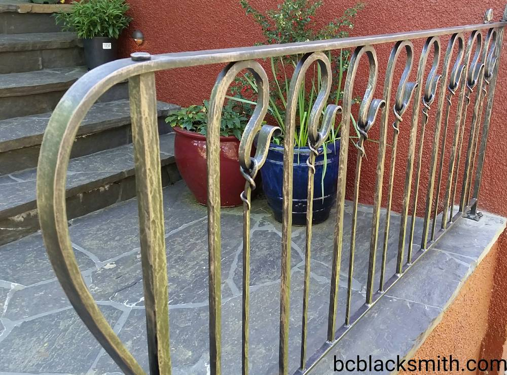 Wrought Iron Railing Vancouver house